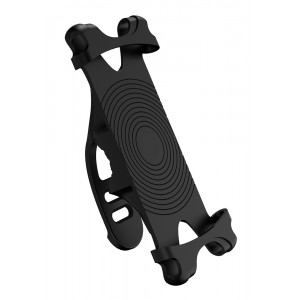 USAMS βάση ποδηλάτου για smartphone US-ZJ053, λαστιχένια, μαύρη ZJ53ZJ01