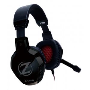 ZALMAN gaming headset ZM-HPS300, 3.5mm, 50mm, μαύρο ZM-HPS300