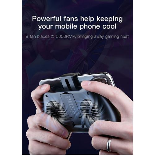 BASEUS βάση για smartphone ACSR-CW01 με ψύκτρα & powerbank 1200mAh ACSR-CW01