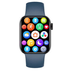 HIFUTURE smartwatch HiTIME, 1.75, IP68, heart rate monitor, μπλε HITIME-DBL