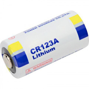 MEDIA RANGE Μπατ.Lithium CR123A/3V