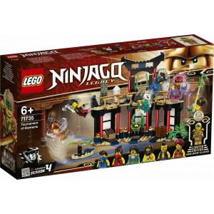 NINJAKO ΤΟ ΤΟΥΡΝΟΥΑ ΤΩΝ ΣΤΟΙΧΕΙΩΝ ΓΙΑ 6+ ΕΤΩΝ  LEGO 71735