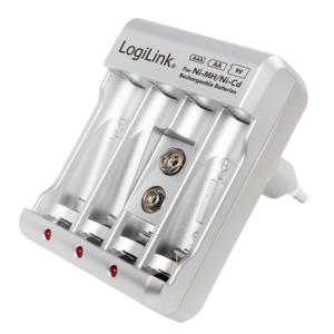 LOGILINK Charger  for Rechargeable Batteries LogiLink PA0168