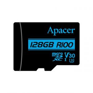 APACER Memory Card Micro SDXC UHS-I U3 Class10 128GB Apacer V30 R100