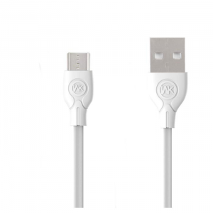 WK Charging Cable WK Micro White 1m Ultra speed Pro WDC-041