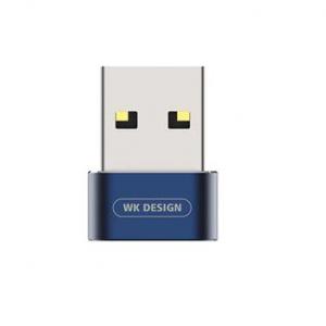 WK Adaptor OTG TYPE C-usb WK Blue WDC-053
