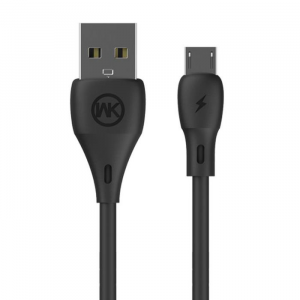 WK Charging Cable WK Micro Black 1m Full Speed WDC-072