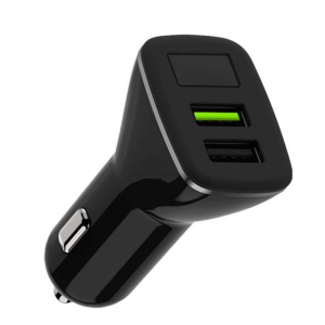 WK Quick Car Charger 3.0 WK 4.8A USBx2 WP-C16 Black