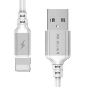 WK Charging Cable WK i6 White 1m WDC-073 Auto Cut-Off