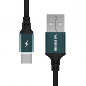 WK Charging Cable WK TYPE-C Black 1m WDC-073 Auto Cut-Off