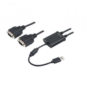 USB 2.0 to 2 port serial Logilink AU0031