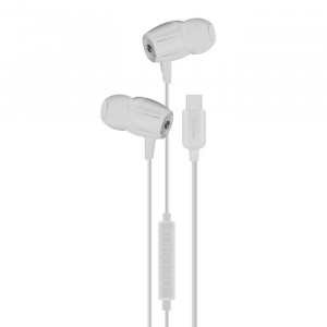 EARPHONE IXCHANGE SE12 TYPE-C WHITE