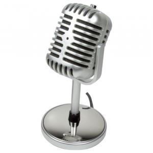 Retro Style Microphone Logilink HS0036
