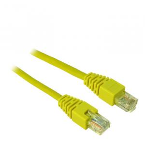 Cable UTP patch CAT5 1m Inter-Tech Υellow