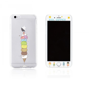 Tempered Glass WK for i6 + 3D TPU Case WTP003/ML005