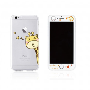 Tempered Glass WK for i6 + 3D TPU Case WTP003/ML006