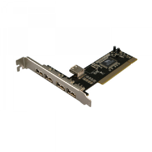 Pci to 4 +1 usb Logilink PC0028