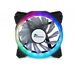 Case Cooler 12cm  RGB-Fan set Argus RS-03