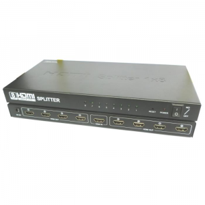 HDMI Splitter 8 Port 3d  Aculine SPL-003
