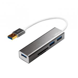 Usb 3.0 Hub Logilink with Card Reader UA0306