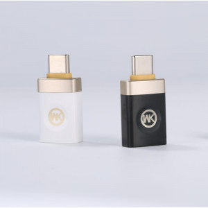 WK Adaptor OTG TYPE C-usb WK White