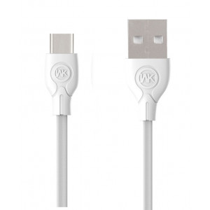 WK Charging Cable WK TYPE-C White 1m Ultra speed Pro WDC-041