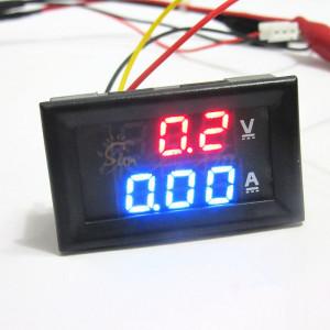 100A Voltmeter Ammeter LED Dual Digital Volt Amp Meter Gauge