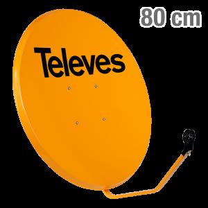 7901 ΚΑΤΟΠΤΡΟ 80 STEEL πορτοκαλι 12-07-0004
