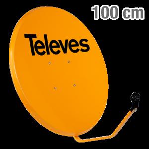 7534 ΚΑΤΟΠΤΡΟ 100 STEEL πορτοκαλι 12-07-0005