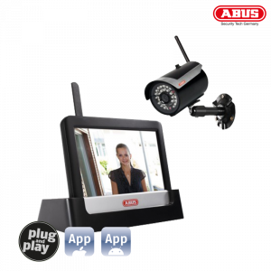 ABUS TVAC16000B 7 Home Video Surveillance Set Touch & App 20-00-0003 (ΕΩΣ 6 ΑΤΟΚΕΣ ΔΟΣΕΙΣ)