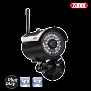 ABUS TVAC16010B Wireless Outdoor IR camera 2.4GHz for 7 set 20-00-0004 (ΕΩΣ 3 ΑΤΟΚΕΣ ΔΟΣΕΙΣ)
