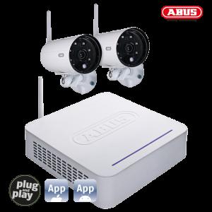 TVAC18000B DVR Kit + 2 Outdoor Cameras Wireless 20-01-0001 (ΕΩΣ 12 ΑΤΟΚΕΣ ΔΟΣΕΙΣ)