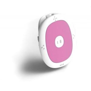 Συσκευη αναπαραγωγης μουσικης MP3 pink SRM-7300