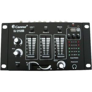 DJ-211USB ΜΙΚΤΗ ΗΧΟΥ