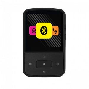 Crypto Mp1500BT Mp4 Series 1,5 ' FM Radio Pedometer Bluetooth 8 GB Flash (ΜΑΥΡΟ)