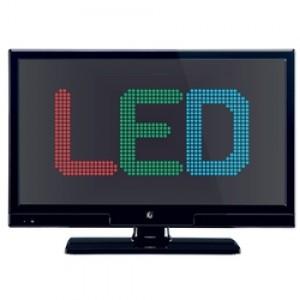 """LED TV 20"""" HD Ready λεπτου σχεδιασμου 100Hz F&U FL20891 ΜΑΥΡΗ"""