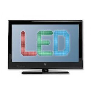 """LED TV 24"""" HD Ready λεπτου σχεδιασμου 100Hz F&U FL24050 ΜΑΥΡΗ"""