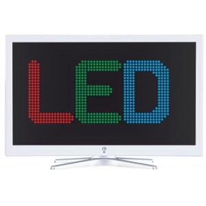 """ΤΗΛΕΟΡΑΣΗ LED 32"""" HD Ready λεπτου σχεδιασμου 100Hz F&U FL328941 ΛΕΥΚΗ"""