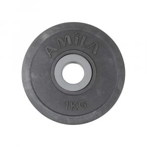 Δισκος με Επενδυση Λαστιχου 28mm 1kg