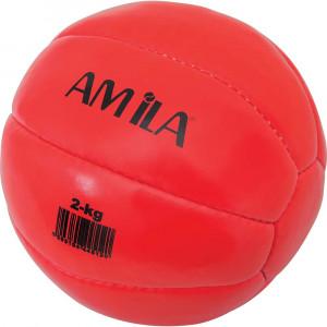 ΜΠΑΛΑ ΓΥΜΝΑΣΤΙΚΗΣ MEDICINE BALL 4KG - AMILA 44514
