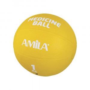 ΜΠΑΛΑ ΓΥΜΝΑΣΤΙΚΗΣ MEDICINE BALL 1KG - AMILA 44551