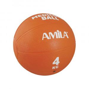 ΜΠΑΛΑ ΓΥΜΝΑΣΤΙΚΗΣ MEDICINE BALL 4KG - AMILA 44554