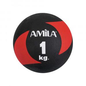ΜΠΑΛΑ ΓΥΜΝΑΣΤΙΚΗΣ MEDICINE BALL 1KG - AMILA 44635