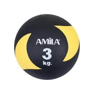 ΜΠΑΛΑ ΓΥΜΝΑΣΤΙΚΗΣ MEDICINE BALL 3KG - AMILA 44637