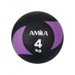 ΜΠΑΛΑ ΓΥΜΝΑΣΤΙΚΗΣ MEDICINE BALL 4KG - AMILA 44638