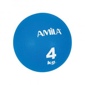 ΜΠΑΛΑ ΓΥΜΝΑΣΤΙΚΗΣ MEDICINE BALL 4KG - AMILA 44646