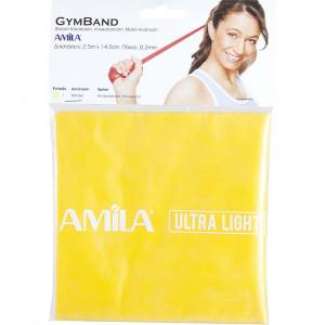 Λάστιχο Gym Band 2,5m, Μαλακό 48185