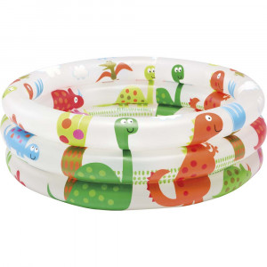 BABY SWIMMING POOL DINOSAUR 3 RING BABY POOL  57106