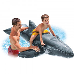 Realistic Whale Ride-On 57530