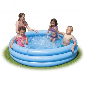 KIDS SWIMMING POOL CRYSTAL BLUE 58426